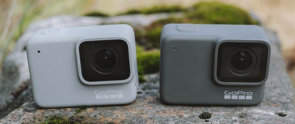 GoPro Hero7 白色和银色