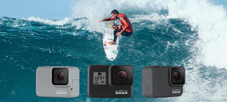 GoPro Hero7 黑白银三种颜色的区别对比